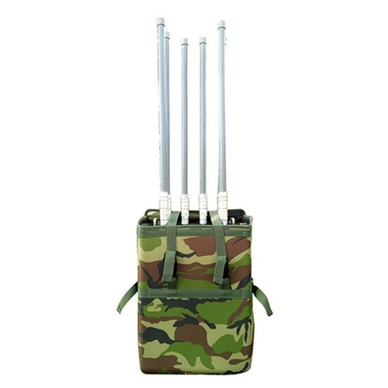 High Power Backpack Mobile Phone Signal Jammer with 6 Bands