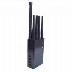 Handheld 8 Bands Portable Cell Phone Jammer RF Jammer with Lojack