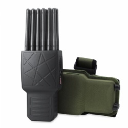 12 Antennas All-in-One Handheld Mobile Phone Jammer With LOJACK GPS WIFI 315/433/868(Remote Control)