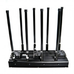Drone UAV Signal Jammer,8 Bands RC2.4G 5.8GHz 433 315 868 916 MHz GPS&GLONASS L1L2 Jammer up to 500m